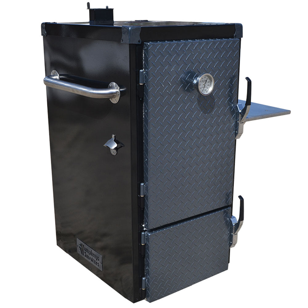BBQ Smoker HUMPHREYS Reverse Flow Cabinet Smoker The Pint 143 Litres