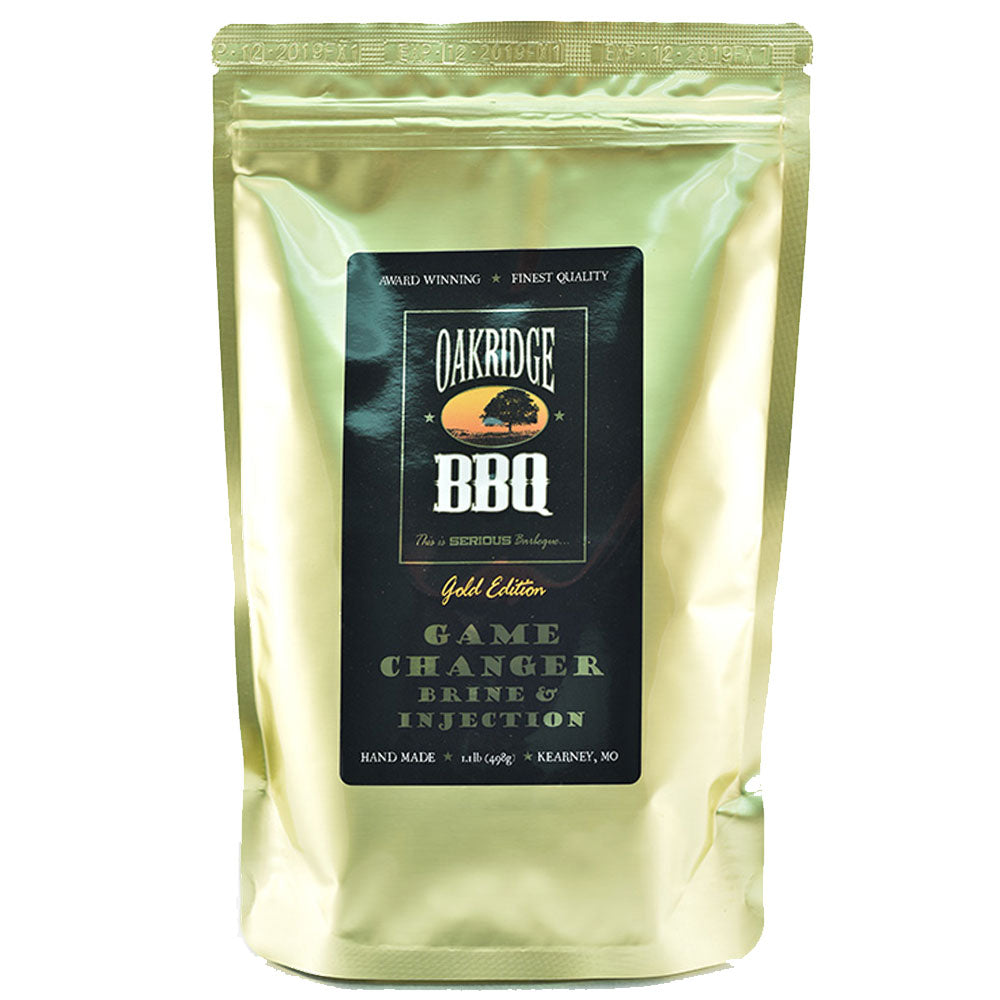 BBQ Brine and Injection OAKRIDGE BBQ Gold Edition Game Changer 498g