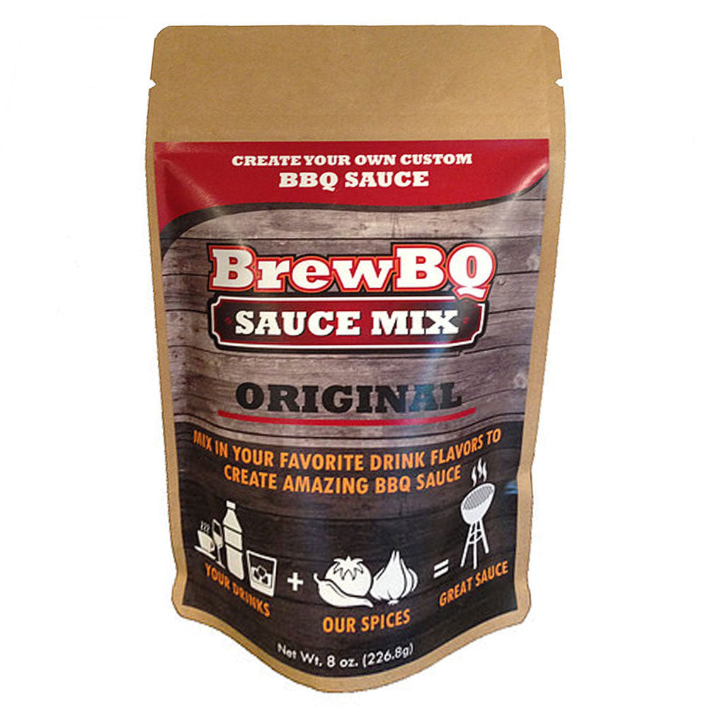 Dry Mix BREWBQ Create Your Own Barbecue Sauce Mix Original 226g - American BBQ Australia