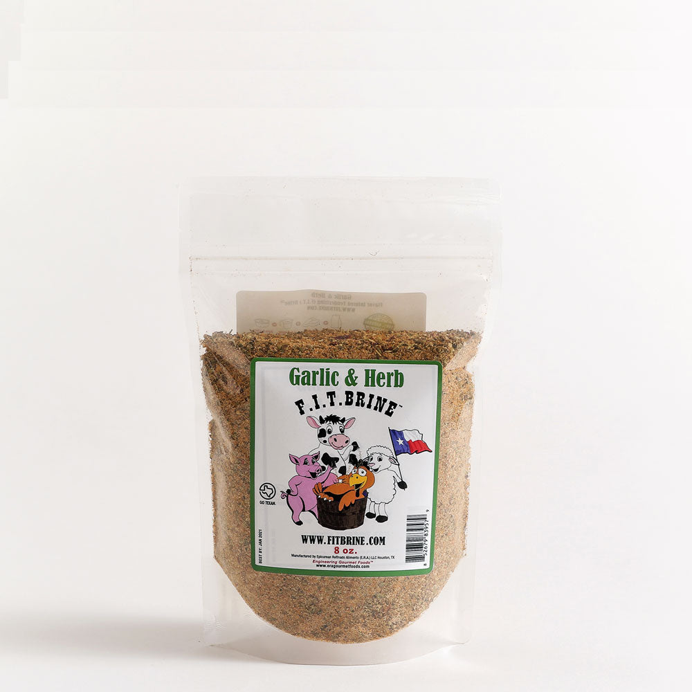 Dry Mix F.I.T. BRINE All Natural Garlic and Herb 226g