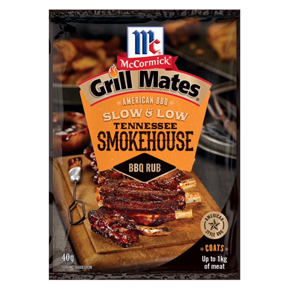 Dry Mix Grill Mates BBQ Rub Tennessee Smokehouse 40g