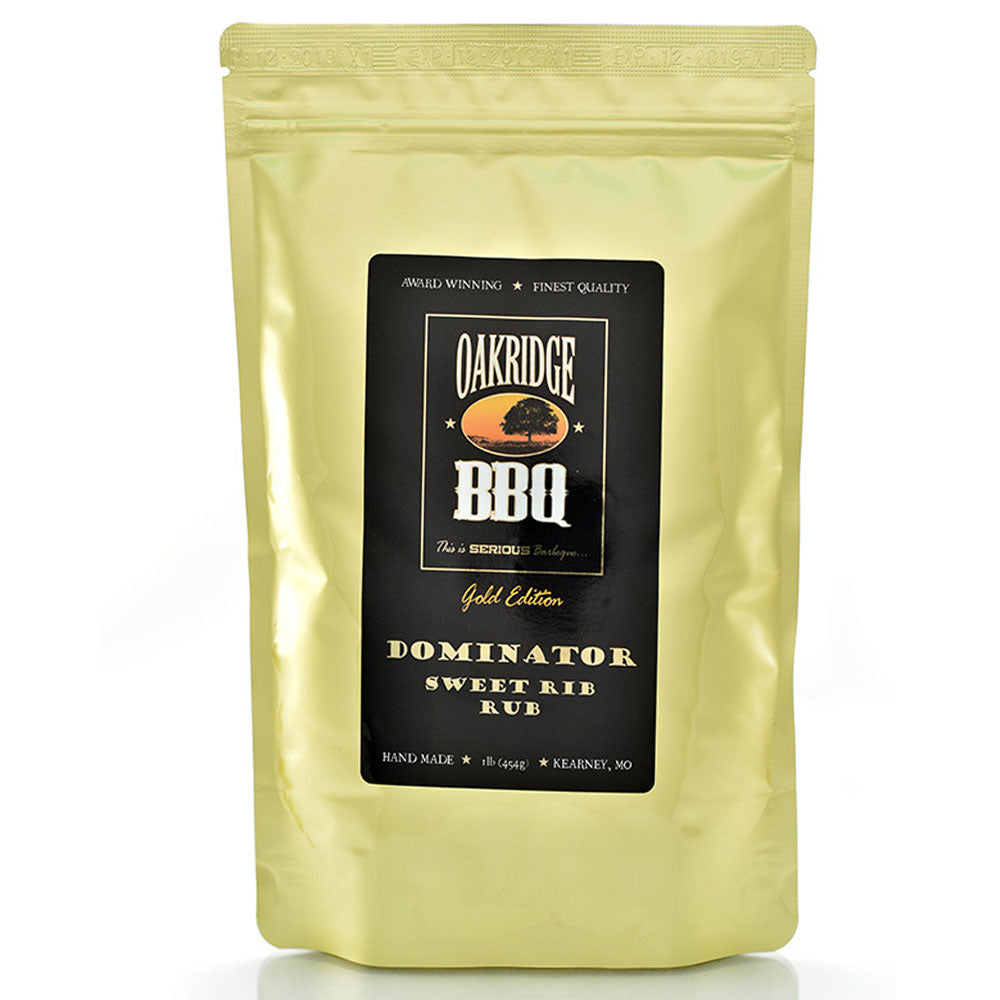 BBQ Dry Rub OAKRIDGE BBQ Gold Edition Dominator Sweet Rib 454g
