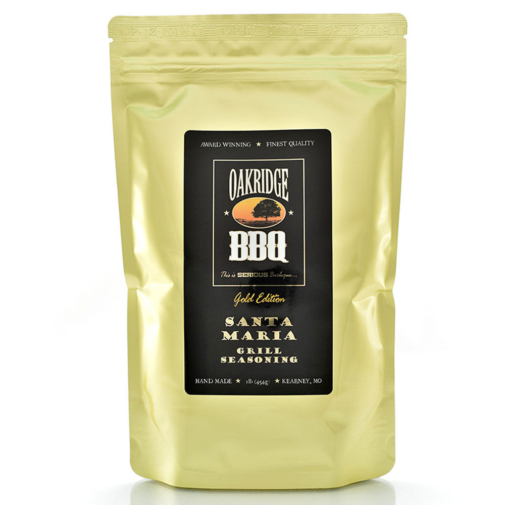 BBQ Dry Rub OAKRIDGE BBQ Gold Edition Santa Maria Steak and Grill 454g - American BBQ Australia