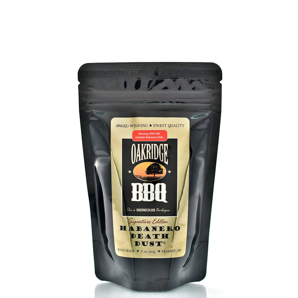 BBQ Dry Rub OAKRIDGE BBQ Signature Edition Habanero Death Dust 170g