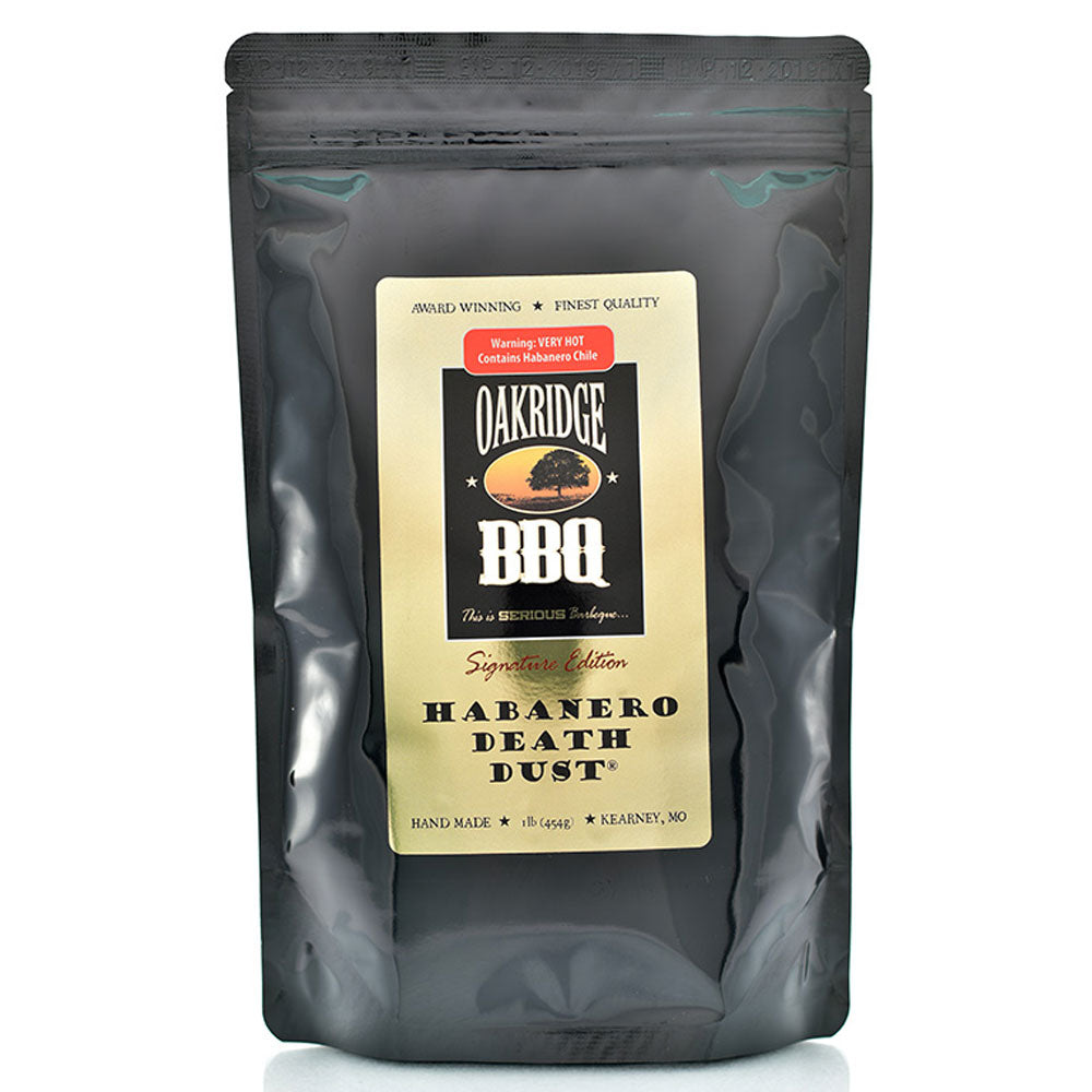 BBQ Dry Rub OAKRIDGE BBQ Signature Edition Habanero Death Dust 454g