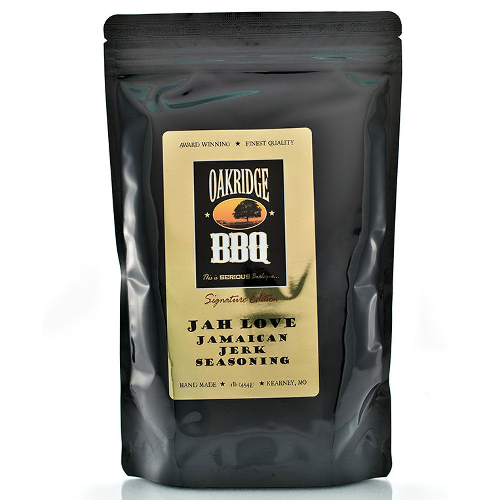 BBQ Dry Rub OAKRIDGE BBQ Signature Edition Jah Love Jamacian Jerk