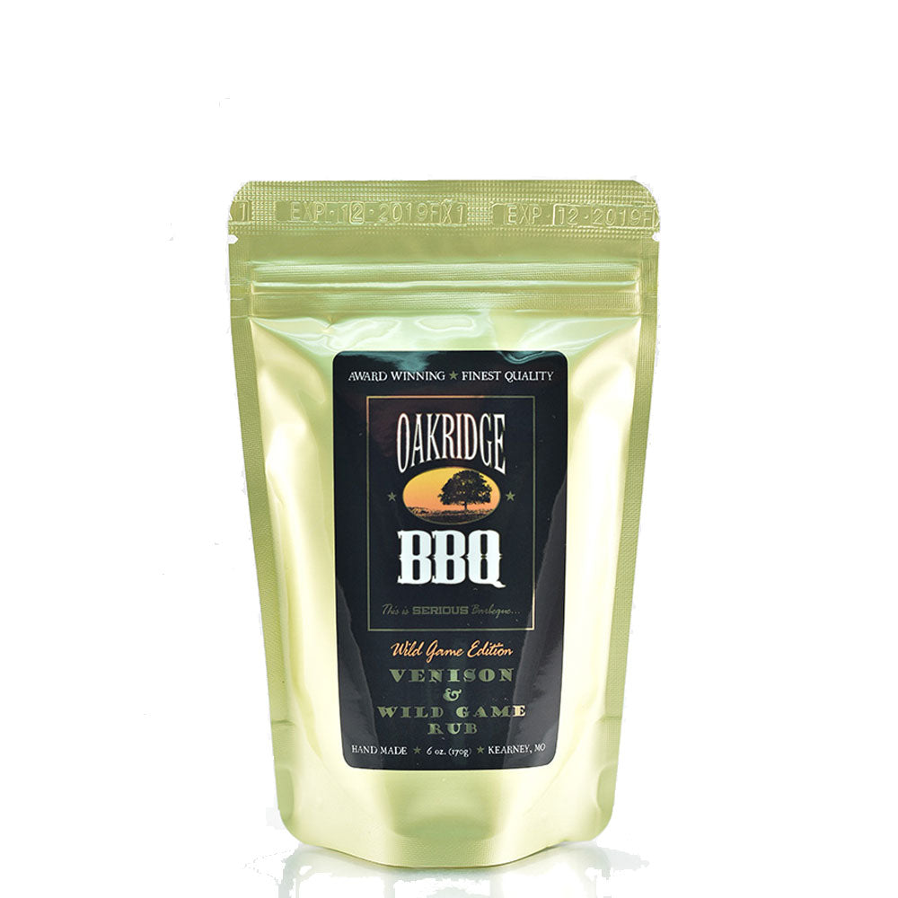 BBQ Dry Rub OAKRIDGE BBQ Wild Game Edition Venison and Wild Game 170g - American BBQ Australia