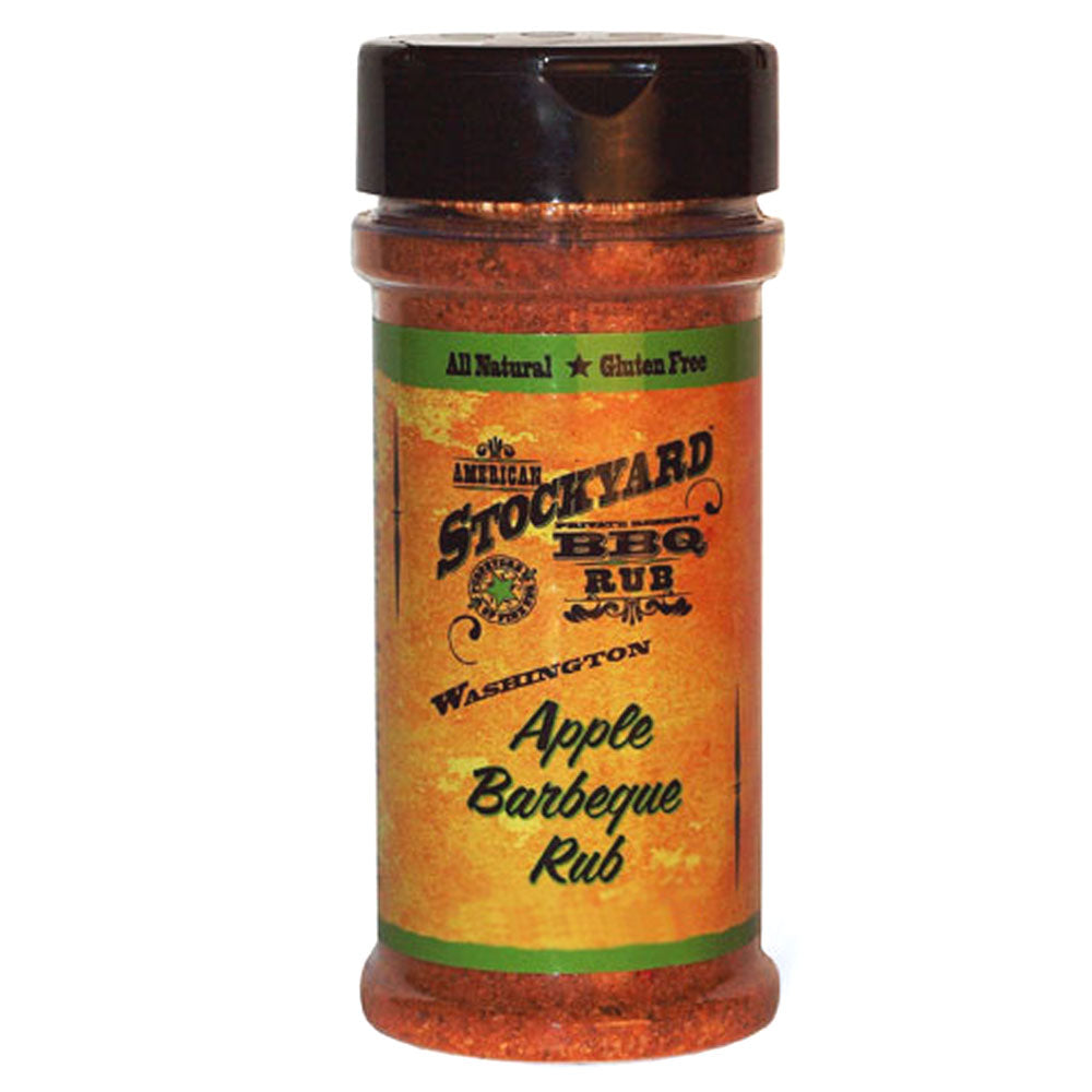 BBQ Dry Rub AMERICAN STOCKYARD Washington Apple BBQ 198g