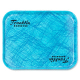 FRANKLIN BBQ Reinforced Fiberglass Turquoise Cafeteria Tray 35 x 45cm - American BBQ Australia