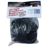 Gasket BBQ Smoker A.W PERKINS Fiberglass Rope with Graphite for Offset Smokers - American BBQ Australia