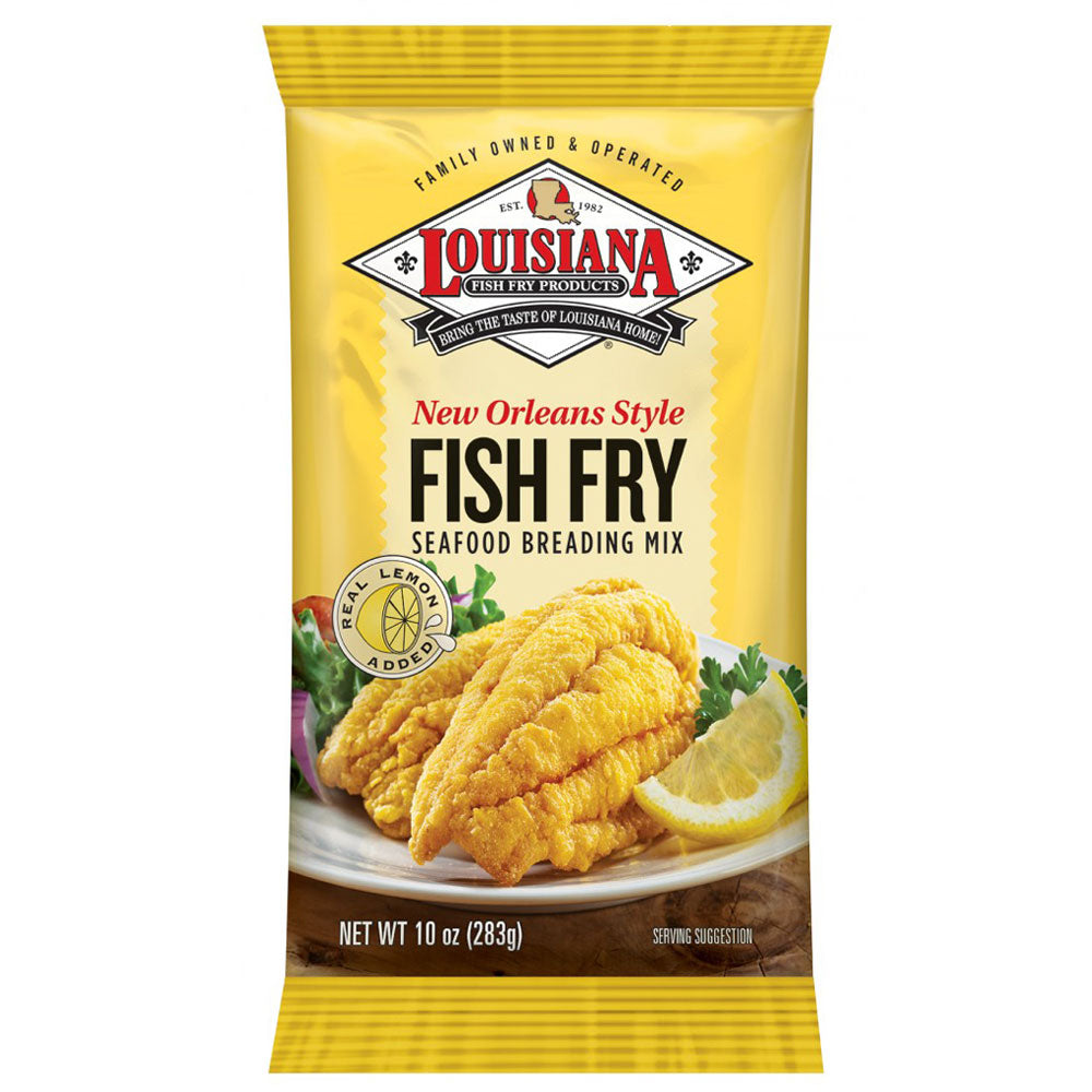 Dry Mix LOUISIANA FISH FRY New Orleans Style Seafood Breading Mix 283g
