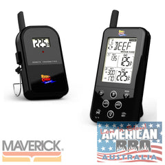 Thermometer Maverick Wireless BBQ ET-733 Black Dual Sensors Long Range