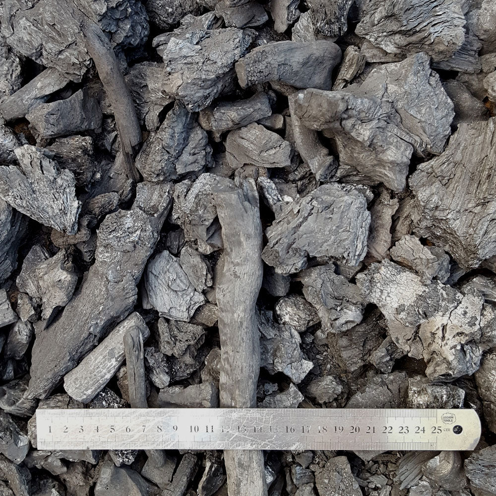 Natural Hardwood Lump Charcoal MALLEE (Root & Stump) 20kg NW VIC