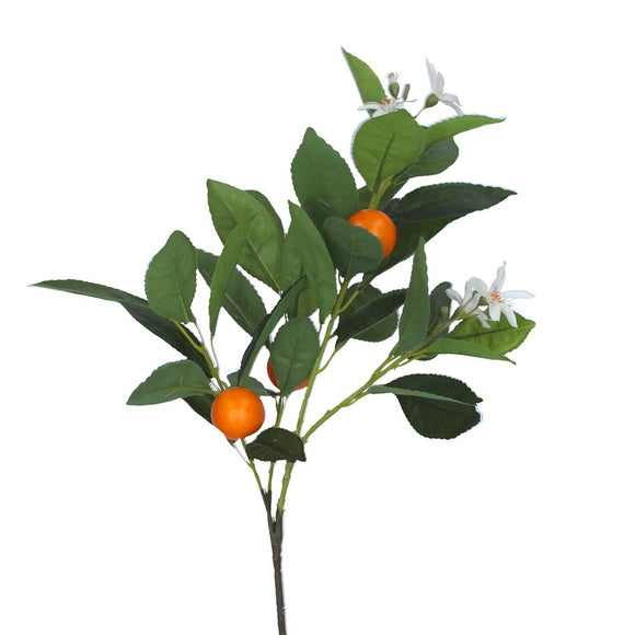 Spray 56cm - Miniature Tangerine