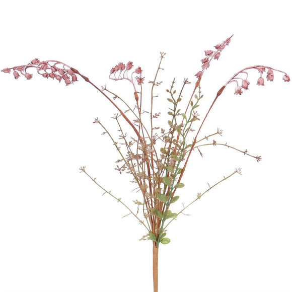 Spray 55cm - Pink Wild Bell Flower