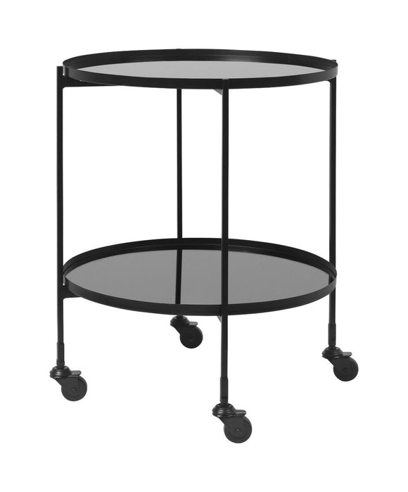 Black Bar Gitte Cart by Bahne