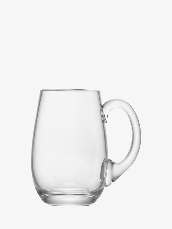 Beer Tankard Curved 750ml by LSA