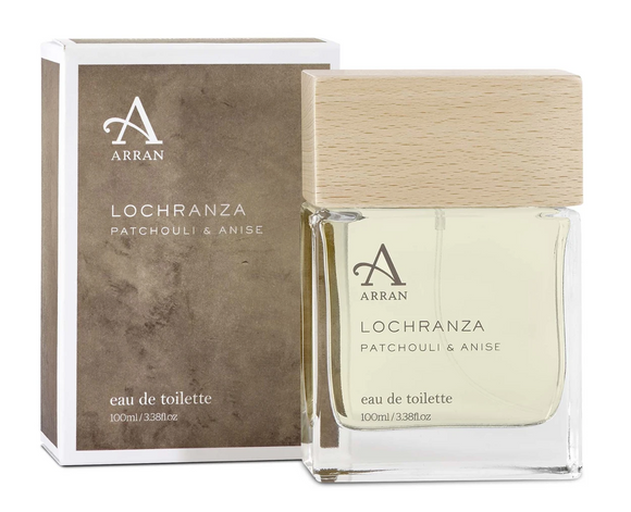 Lochranza Mens Eau de Toilette - Patchouli & Anise by Arran Aromatics