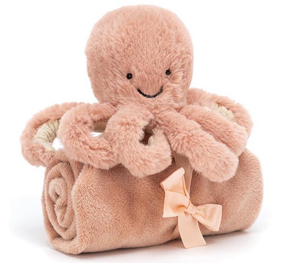 Odell Octopus Soother by Jellycat
