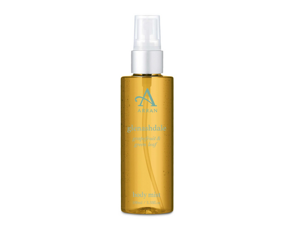 Glenashdale Uplifting Grapefruit & Green Leaf Body Mist by Arran Aromatics
