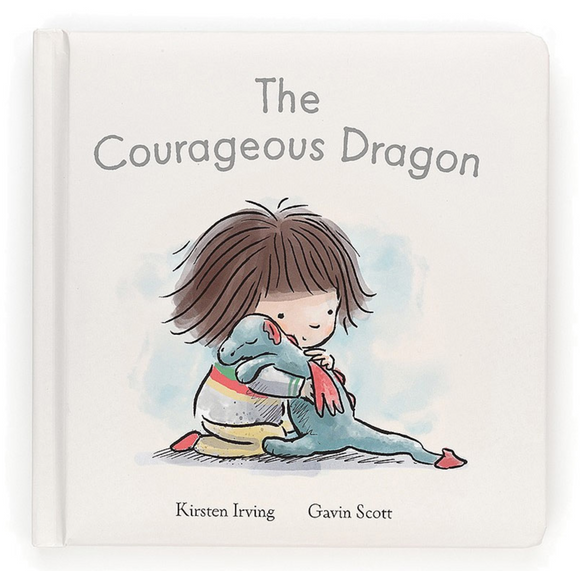 The Courageous Dragon Book by Jellycat