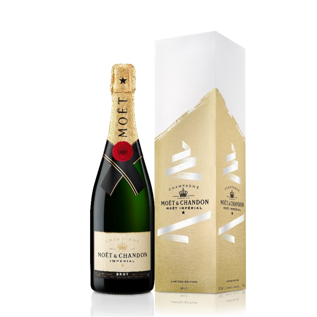Moët & Chandon Impérial Brut Tie Your Wish Limited Edition Gift Box 0,75 l