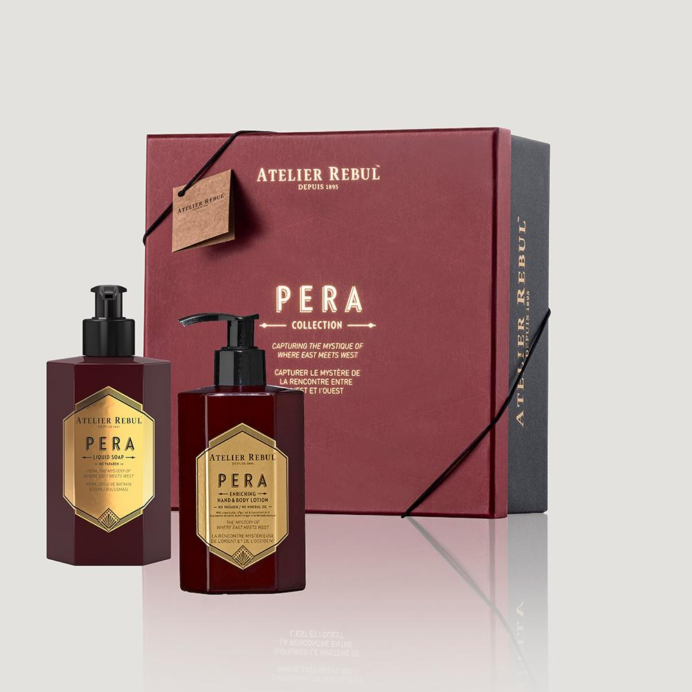 Atelier Rebul Pera Spa Set Liquid Soap and Hand&Body Lotion