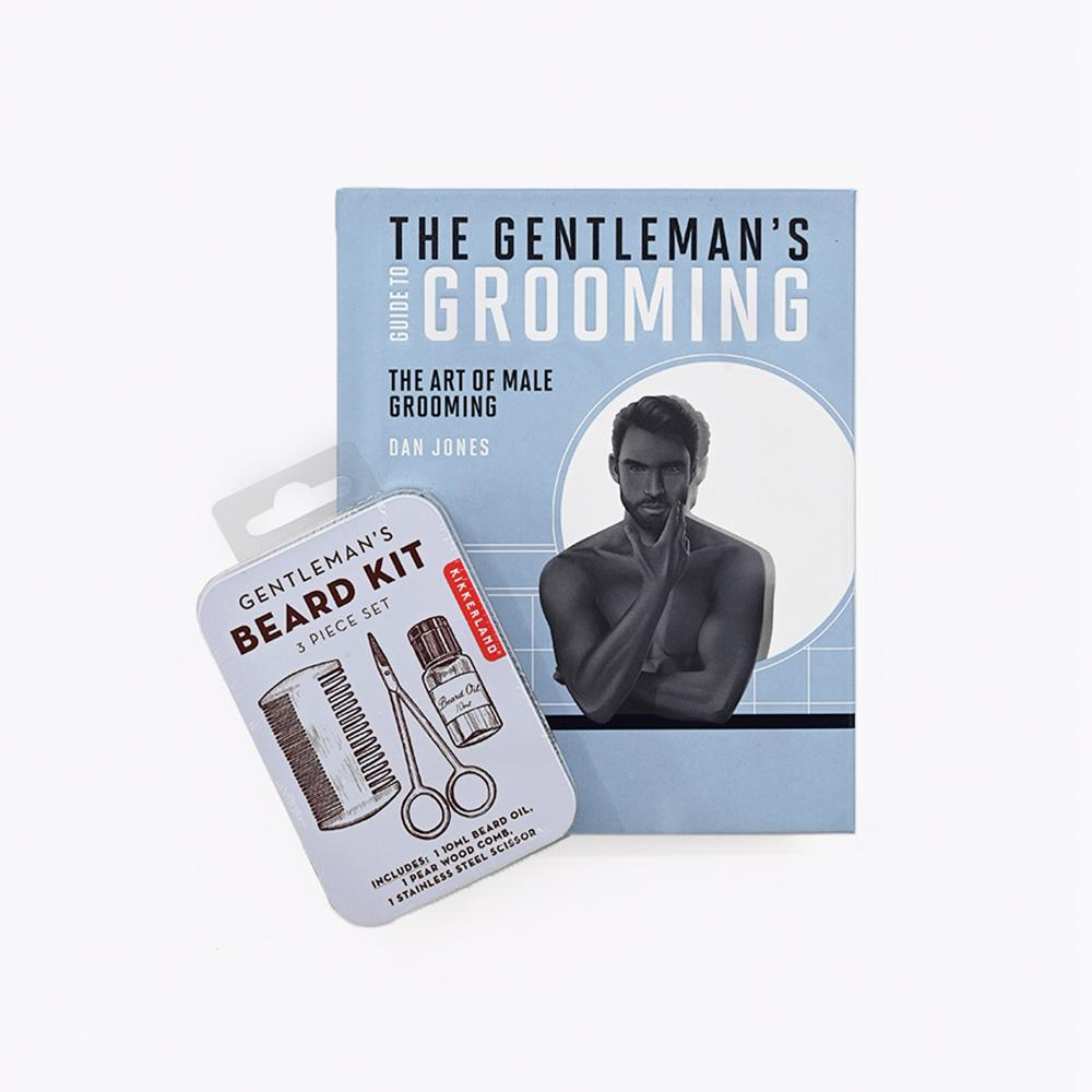 Book The Gentleman's guide to grooming and Gentleman's beard kit