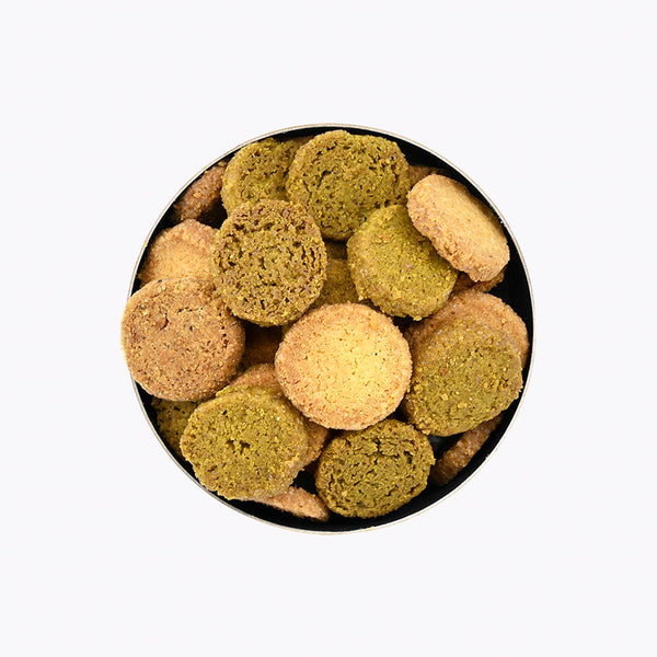 Crispy Pistachio Hazelnut and Vanilla Biscuits 150 g