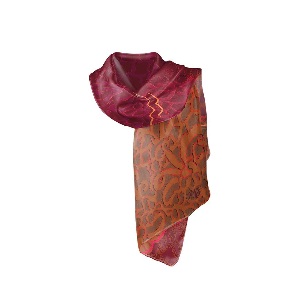 Croata Red Wine Shawl