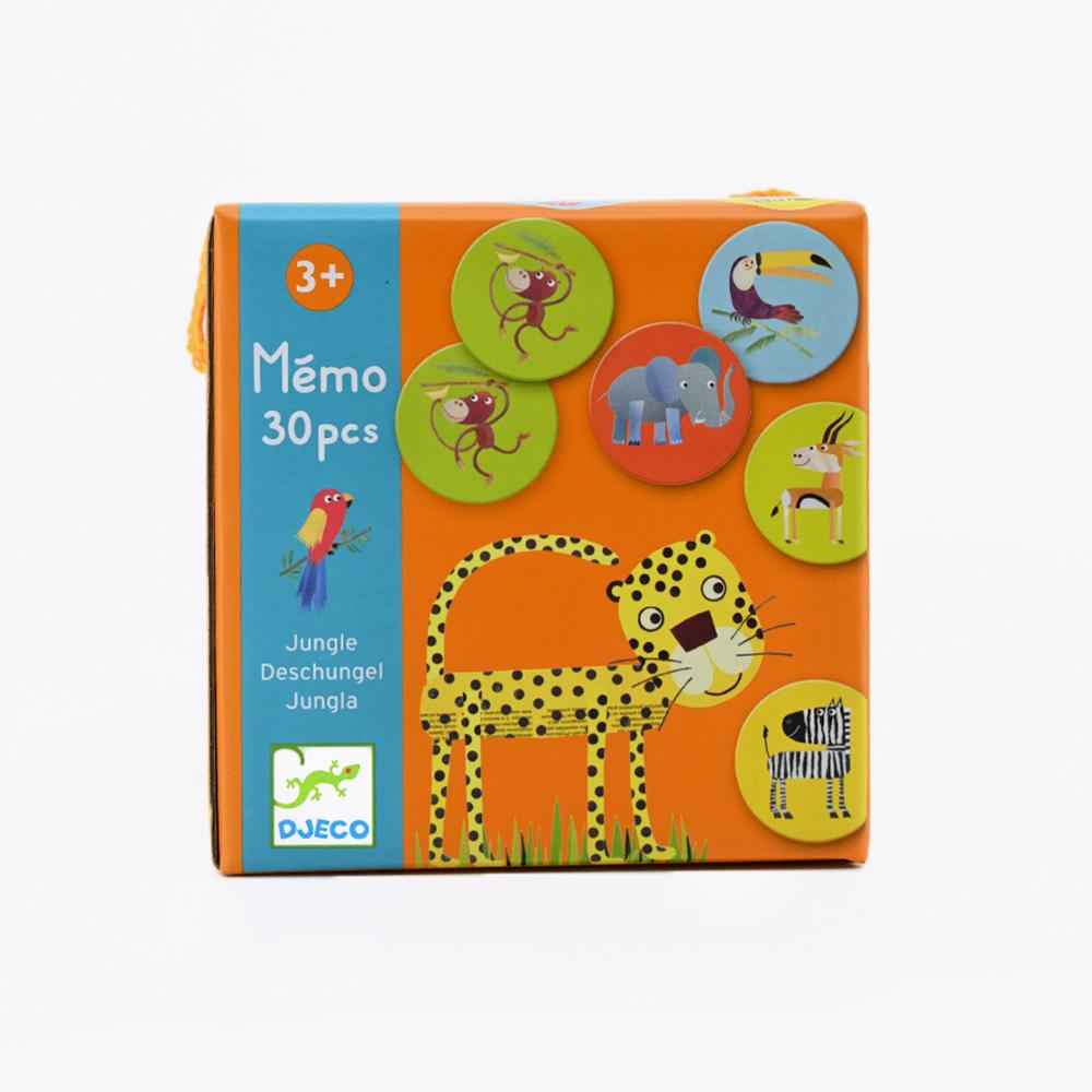 Djeco Jungle box memo