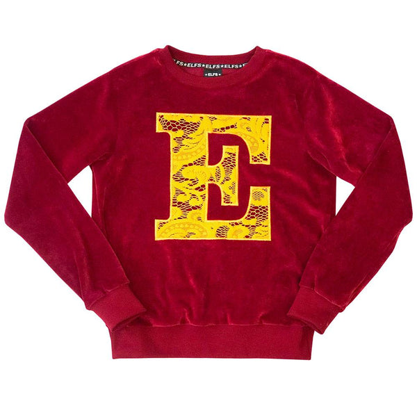 Elfs Female Sweater E Red Velvet