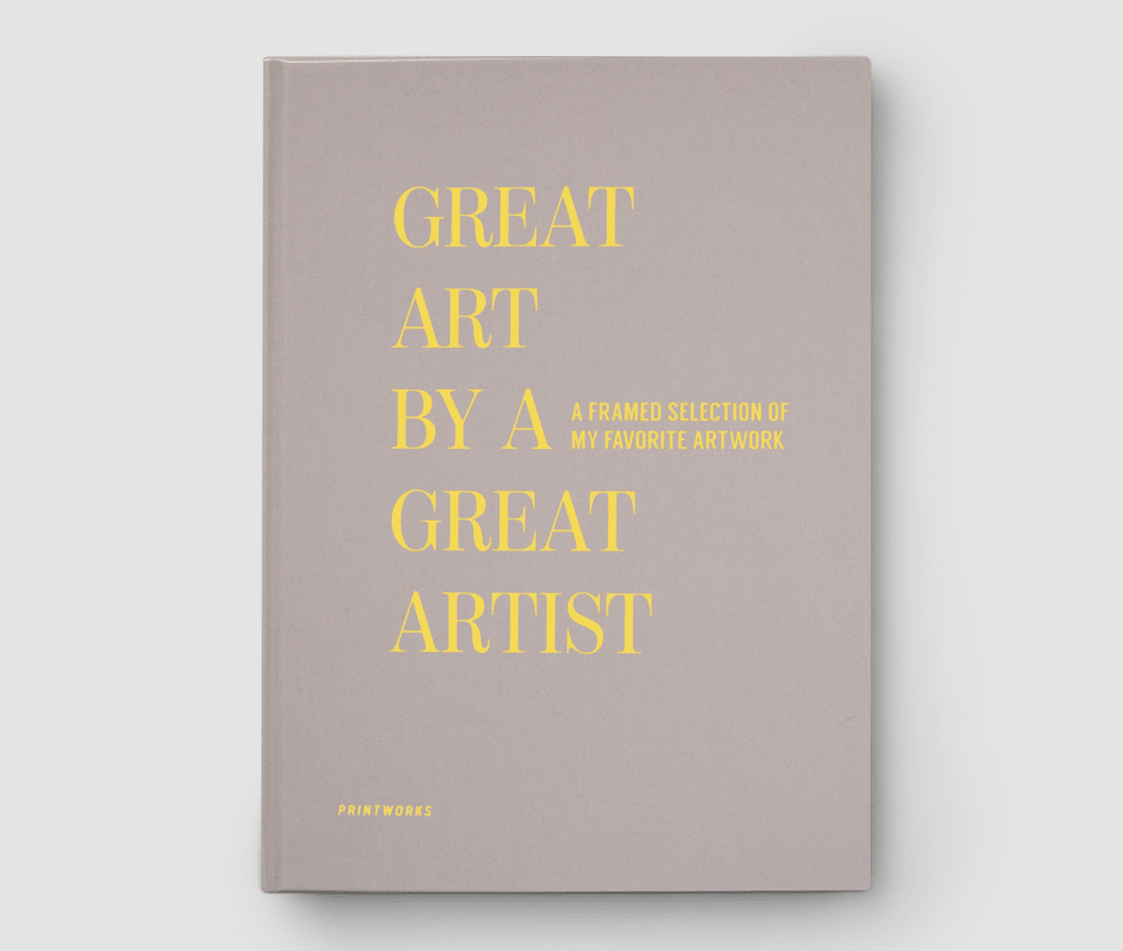 Frame Book – Great art, beige