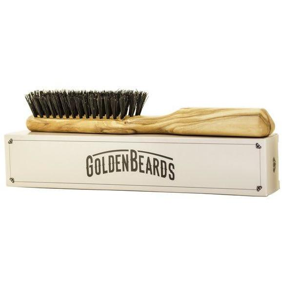 Golden beards brush