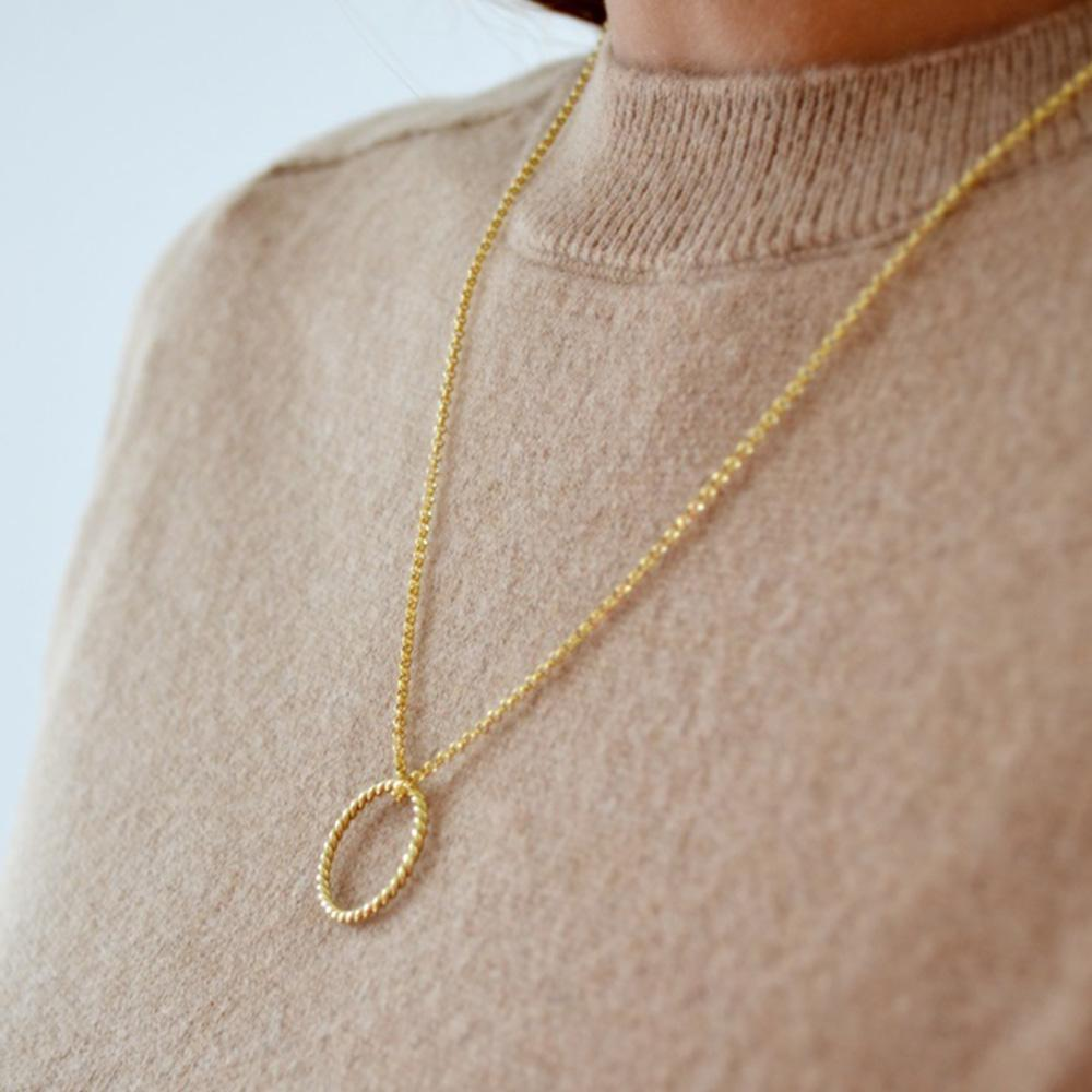 Iva Viljevac Infinite Ring Necklace