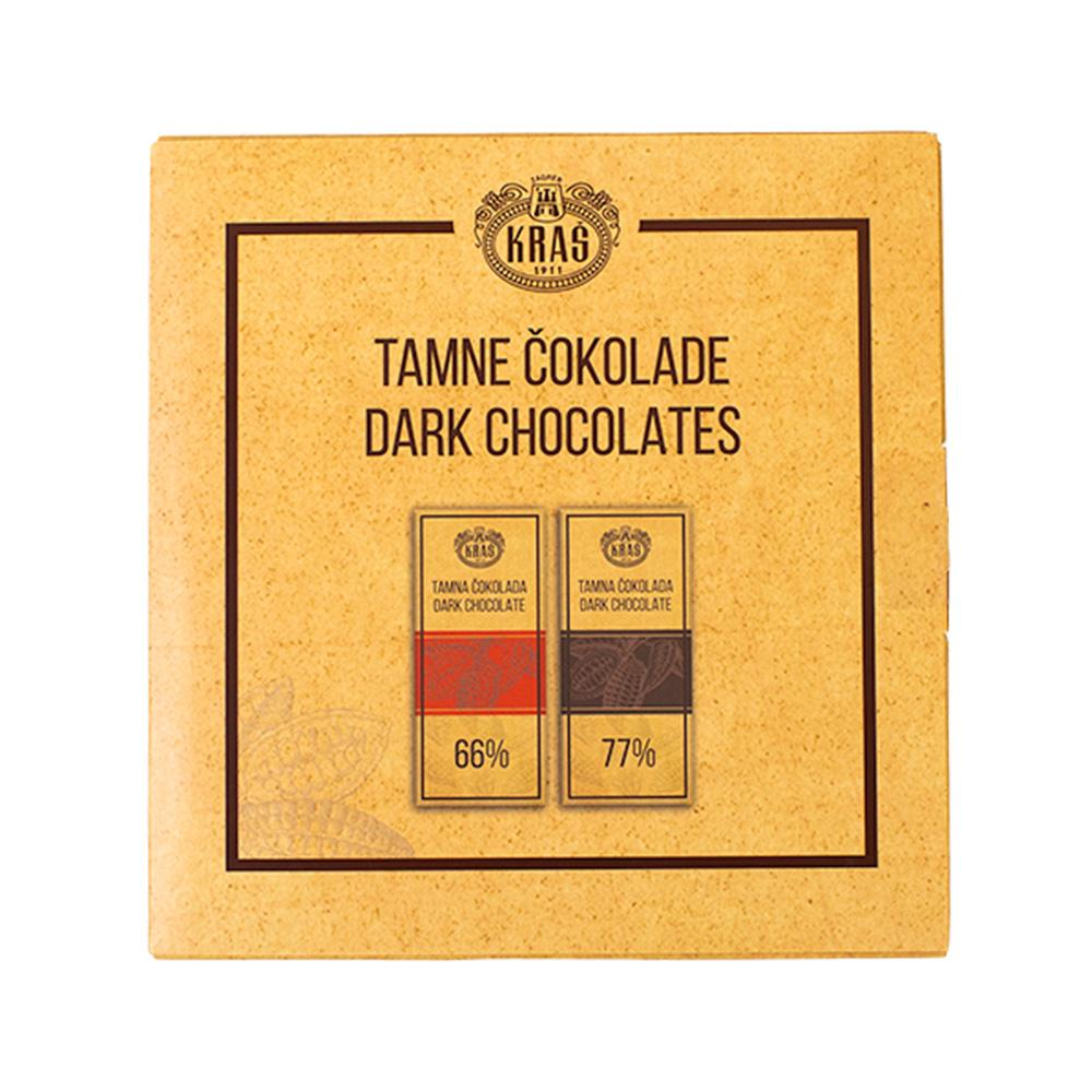 Kraš Dark Chocolate 66% & 77% 160 g