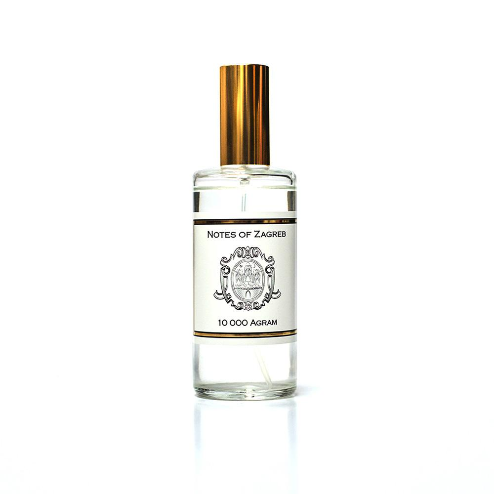 Notes of Zagreb 10000 AGRAM room spray 100 ml