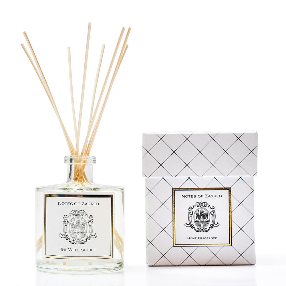 Notes of Zagreb The Well of Life reed diffuser
