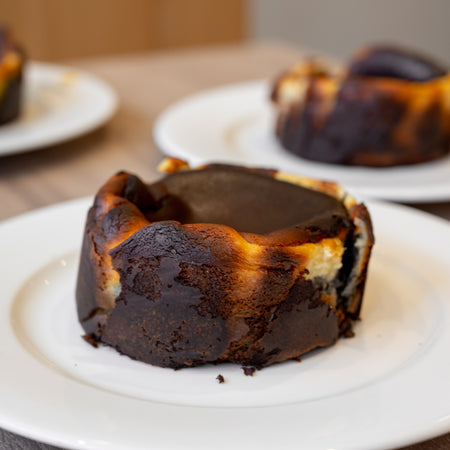 Burnt Top Cheesecake