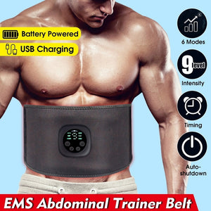 Intelligent EMS Fitness Trainer Belt