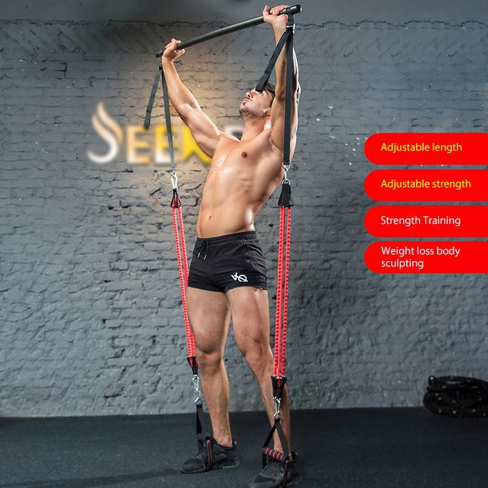 Resistance Bands Set Upgraded Anti-Break-tubes