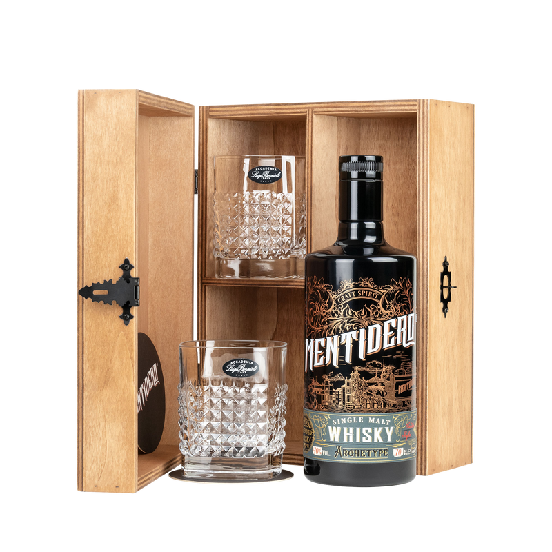 MENTIDERO SINGLE MALT WHISKY ARCHETYPE GESCHENKSET - 0,7 Liter - 40% VOL