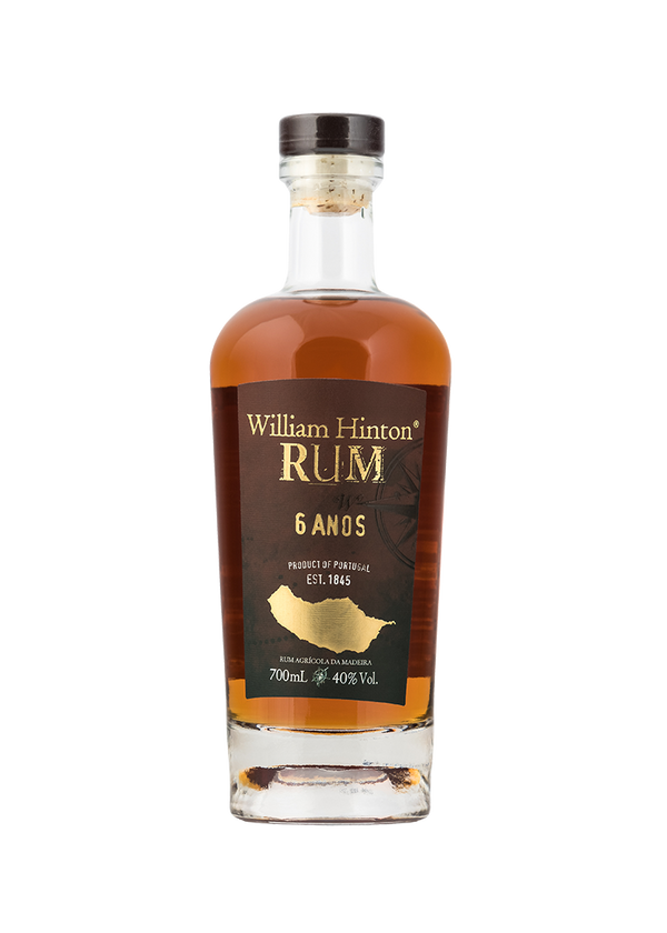 WILLIAM HINTON MADEIRA RUM - 6 Jahre - 0,7 Liter - 40% VOL