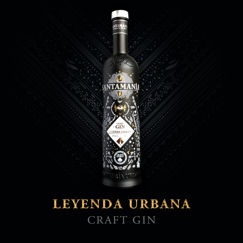 SANTAMANIA CRAFT GIN LEYENDA URBANA - 0,7 Liter - 43% VOL