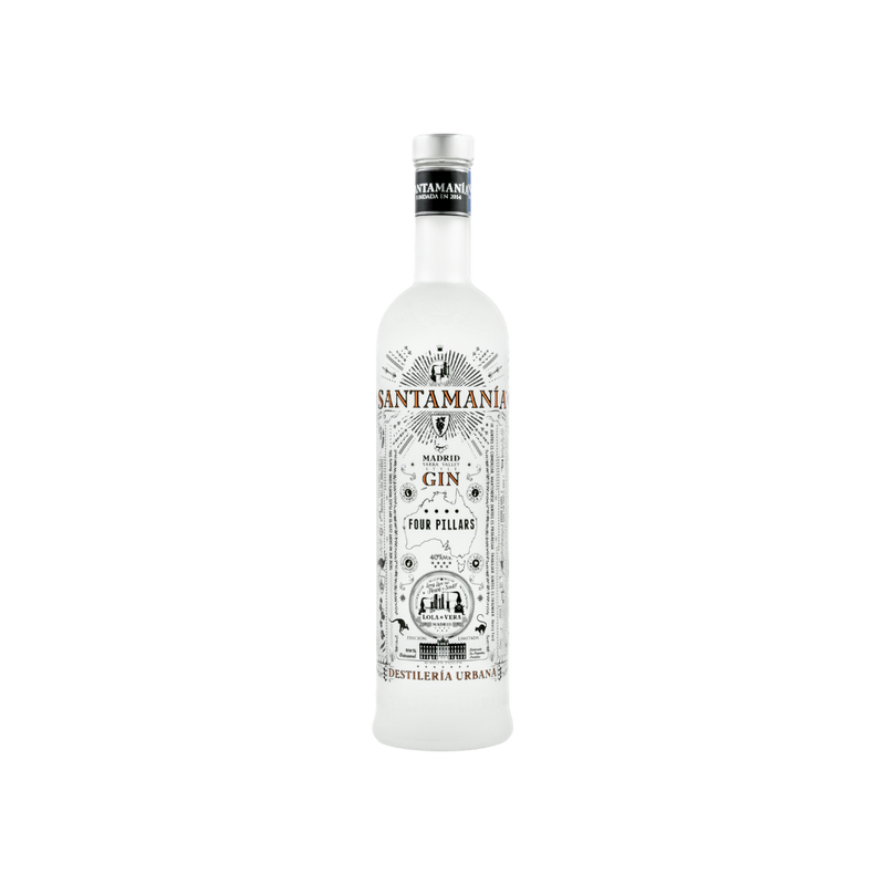 SANTAMANIA FOUR PILLARS GIN - 0,7 Liter - 40% VOL