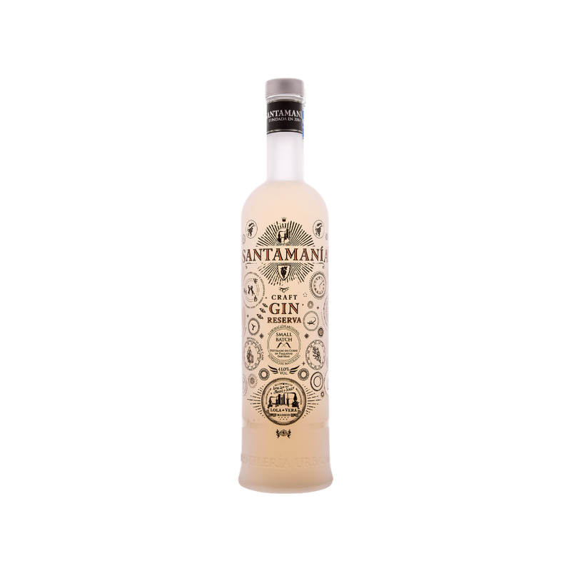 SANTAMANIA MADRID DRY GIN RESERVA - 0,7 Liter - 41% VOL