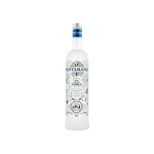 SANTAMANIA CRAFT VODKA - 0,7 Liter - 40% VOL