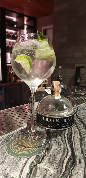 IRON BALLS Vodka - 0,7 Liter - 40% VOL