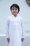 Plain White Kurta (kz-419)