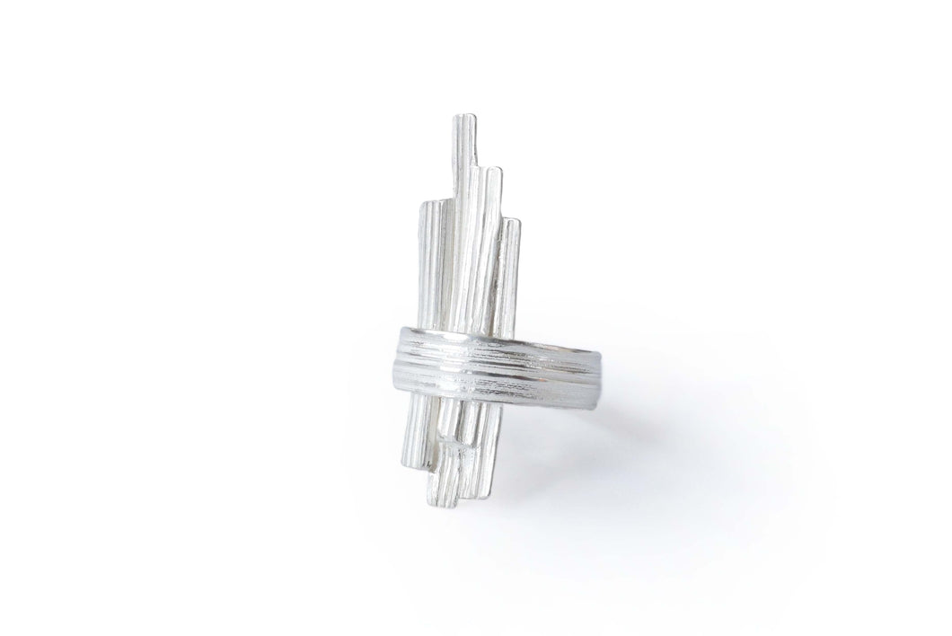 Absolu 'Linear' ring